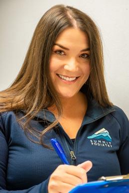 Summit Podiatry Staff Angela